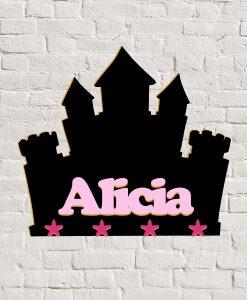 Perchero castillo Alicia