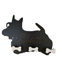 perchero scottish terrier